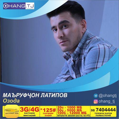 Маъруфчон Латипов-Озода 2019 | Marufjon Latipov-Ozoda 2019